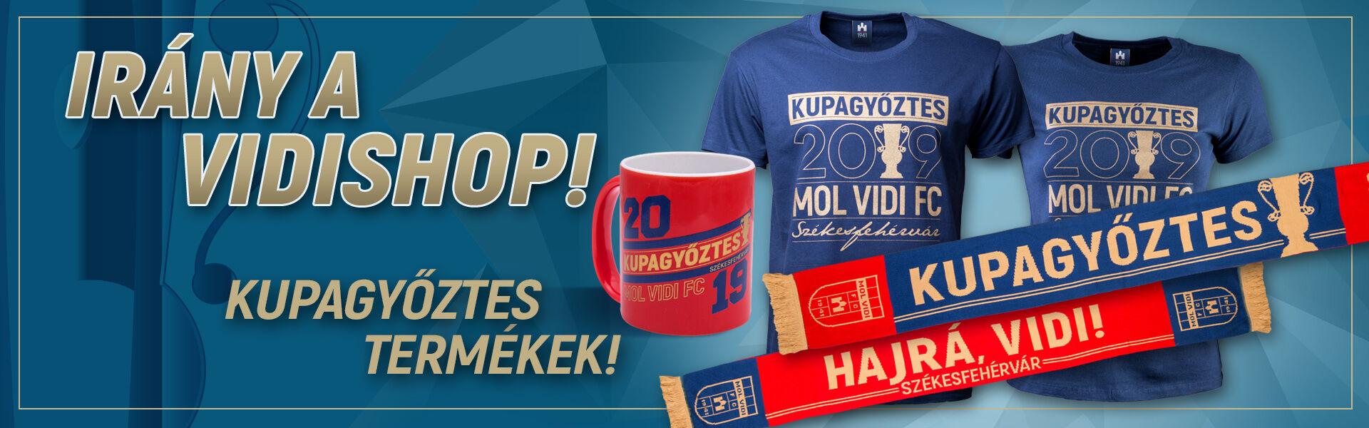 15c08308a5 Vidishop - MOL Vidi FC hivatalos webshop