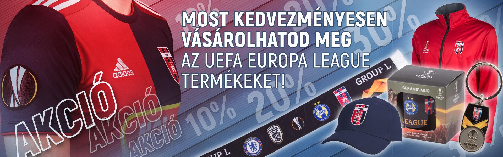 ff41e91e24 Kupagyőztes Költözés 50% kedvezmény Europa League termékek akció  Bérletkedvezmény 2019 Gálaruházat Adidas táskák