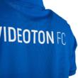 """adidas gálapóló, galléros, kék, rövid ujjú, felnőtt """"Videoton"""" címerrel"""