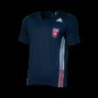 """adidas póló, kék, felnőtt """"MOL Fehérvár FC"""" címerrel"""