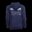 """adidas kapucnis, cipzáras pulóver, kék, felnőtt """"1941"""" felirattal"""