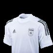 adidas edzőpóló 2020/2021, fehér, gyermek