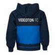 """adidas gálamelegítő felső, kapucnis, kék, gyermek  """"Videoton"""" címerrel"""
