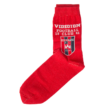 """Zokni, piros """"Videoton Football Club 1941"""""""