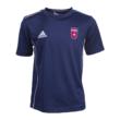 """Adidas pamut póló, kék, felnőtt, """"Videoton"""" címerrel"""
