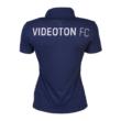 """adidas galléros póló, kék, női, """"Videoton' címerrel"""