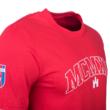 """kereknyakú póló, piros, férfi, """"MCMXLI"""""""
