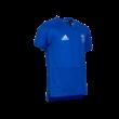 adidas edzőpóló 2019/2020, kék, rövid ujjú, gyermek