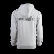 """adidas kapucnis, cipzáras pulóver, szürke, felnőtt, """"mol vidi fc"""" címerrel"""