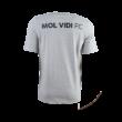 """adidas kereknyakú póló, szürke, felnőtt """"MOL VIDI FC"""" címerrel"""