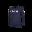 """adidas kereknyakú pulóver, kék, női """"MOL Fehérvár FC"""" címerrel"""