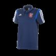 """adidas galléros póló, kék, felnőtt """"MOL Fehérvár FC"""" címerrel"""