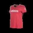 """adidas kereknyakú póló, piros, női """"MOL Fehérvár FC"""" címerrel"""