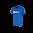 """adidas kereknyakú póló, kék, gyermek """"MOL Fehérvár FC"""" címerrel"""