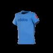 """adidas kereknyakú póló, kék, baby """"MOL Fehérvár FC"""" címerrel"""