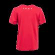 """adidas kereknyakú póló, piros, gyermek """"fehér vár"""" logóval"""