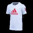 """adidas kereknyakú póló, fehér, gyermek """"MOL Fehérvár FC"""" címerrel"""