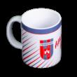 """Bögre, fehér """"MOL Fehérvár FC"""" címerrel"""
