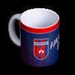 """Bögre, sötétkék """"MOL Fehérvár FC"""" címerrel"""