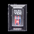 """Öngyújtó, Zippo """"MOL Fehérvár FC"""" címerrel"""