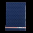A/5-ös füzet, sima, címeres, kék