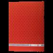"A/4-es füzet, vonalas, piros, ""Videoton"" címerrel"