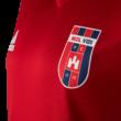 adidas edzőpóló 2018/2019, piros, rövid ujjú, gyermek