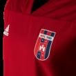 adidas edzőpóló 2018/2019, piros, hosszú ujjú, felnőtt