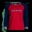 """Pizsama, piros-kék, felnőtt """"1941"""" felirattal"""