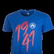 """Kereknyakú póló, kék, felnőtt """"1941"""""""