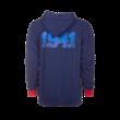 """Kapucnis, cipzáras pulóver, kék, felnőtt """"1941"""""""