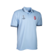 galléros póló, világoskék, férfi, europa league