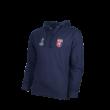 kapucnis, kenguruzsebes pulóver, kék, felnőtt, Europa league