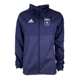 """Adidas esőkabát, kék, felnőtt """"Videoton"""" címerrel"""