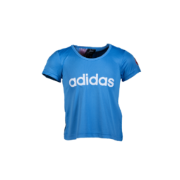 """adidas kereknyakú póló, kék, lány """"MOL Fehérvár FC"""" címerrel"""