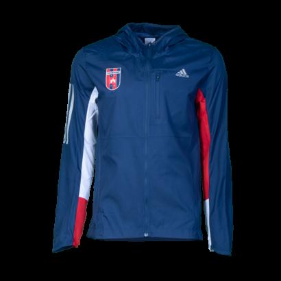 """adidas széldzseki, kék, felnőtt """"MOL Fehérvár FC"""" címerrel"""