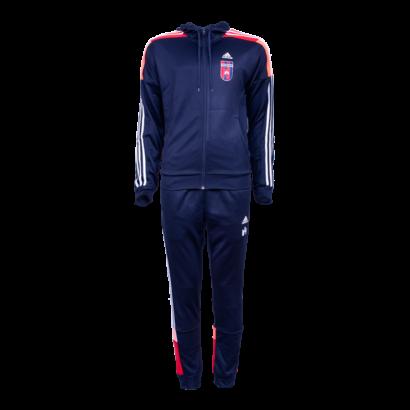 """adidas melegítőszett, piros-kék, felnőtt """"MOL Fehérvár FC"""" címerrel"""