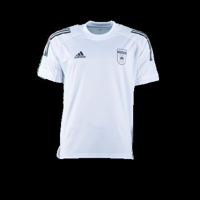 adidas edzőpóló 2020/2021, fehér, felnőtt