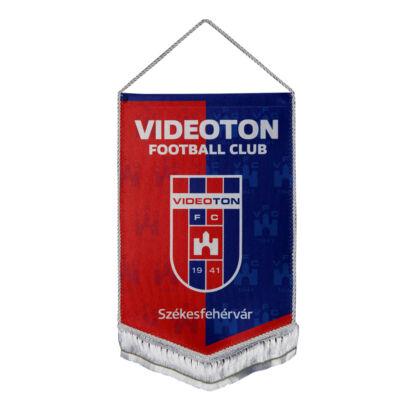 """Autós zászló, selyem """"Videoton"""" címerrel"""