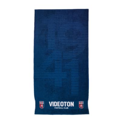 """Törölköző, kék, """"1941 és Videoton Football Club"""""""