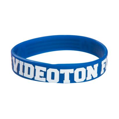 """Szilikon karkötő, kék, felnőtt """"Videoton FC"""""""