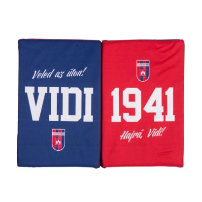 """Ülőpárna, piros-kék """"Vidi 1941"""""""