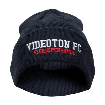 """Kötött sapka, kék, """"Videoton FC Székesfehérvár"""""""