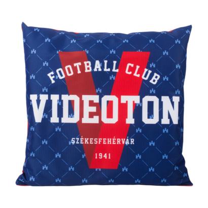 """Díszpárna, kék, """"Videoton Football Club"""""""