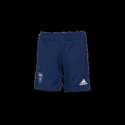 adidas edzőshort 2019/2020, kék, gyermek