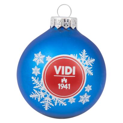 """Karácsonyfadísz, kék """"1941"""""""