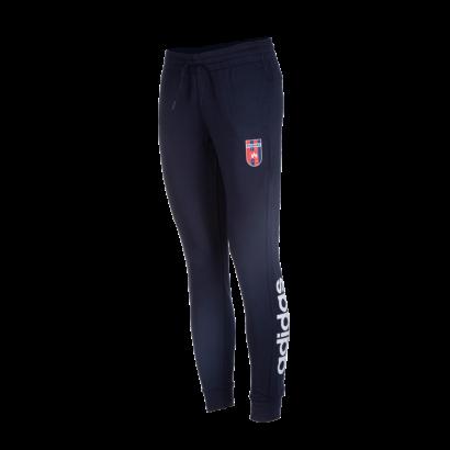 "adidas melegítőnadrág, kék, női ""MOL Fehérvár FC"" címerrel"