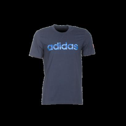 """adidas kereknyakú póló, navy kék, felnőtt """"MOL Fehérvár FC"""" címerrel"""