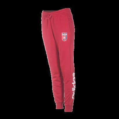 """adidas melegítőnadrág, piros, női """"MOL Fehérvár FC"""" címerrel"""