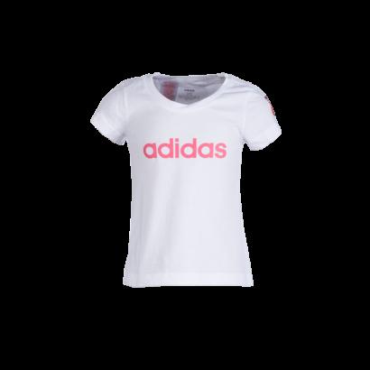 """adidas kereknyakú póló, fehér, lány """"MOL Fehérvár FC"""" címerrel"""